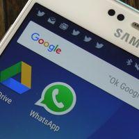 Las copias de seguridad de WhatsApp ya no ocuparán espacio en Google Drive gracias a un nuevo acuerdo entre ambas compañías