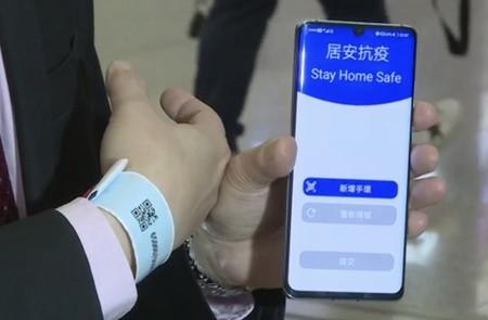 Hong Kong pulsera rastreadora