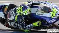 Valentino Rossi lidera el segundo día de test en Jerez, esta vez con sol