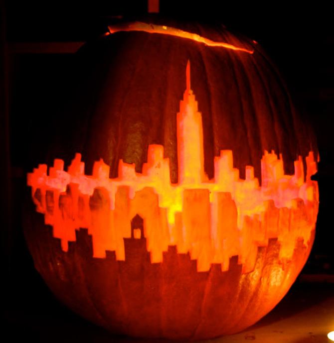 Foto de 10 calabazas originales para inspirarte en Halloween (8/10)