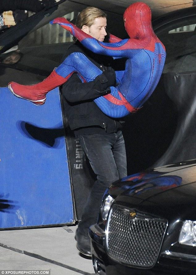 Foto de 'Spider-Man' de Marc Webb, nuevas fotos del rodaje (10/17)