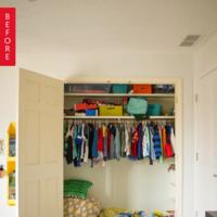 Antes y después: un altillo con su cama cabe dentro del armario