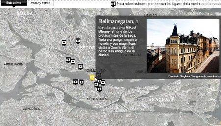 """Un vistazo a la ruta de """"Millennium"""" en Estocolmo"""