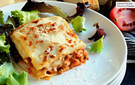 Receta de lasaña de carne a la boloñesa: un clásico básico de la cocina italiana