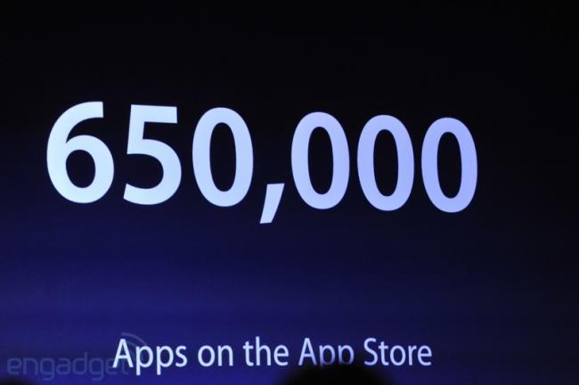 650.000 aplicaciones en la App Store