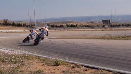 Entrenamiento invernal del Team Blot en Motorland