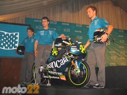 Presentación del Bancaja-Aspar Team de 125