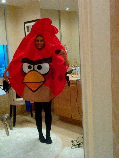sofia-vergara-as-an-angry-bird
