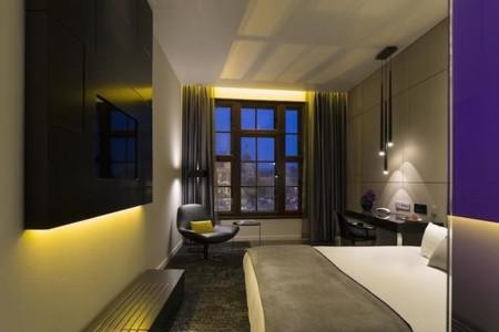 habitacion cama arthotel