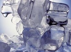 Cuidado con los cubitos de hielo