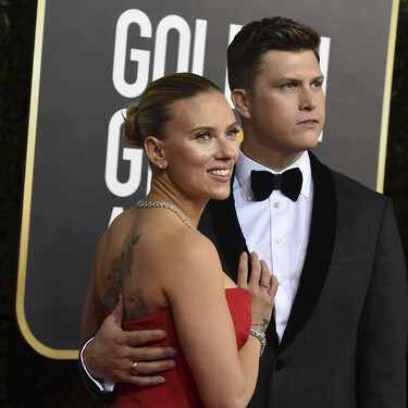 Scarlett Johansson y su marido, Colin Jost, esperan su primer hijo