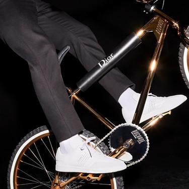 Todo un capricho que desearás muy fuerte: la nueva bici de Dior Homme viene bañada en oro