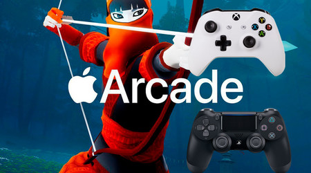 Apple Arcade será compatible con mandos de PlayStation y Xbox en el Apple TV 4K
