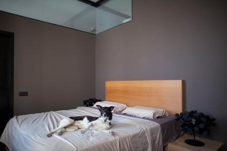 pequeño loft dormitorio