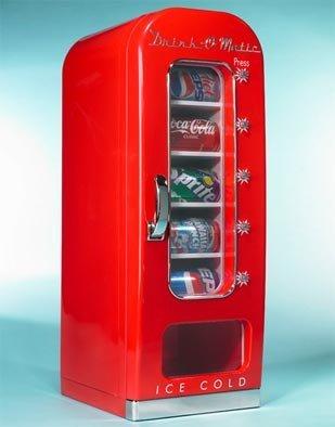 Drink-o-matic, latas frescas con un punto retro