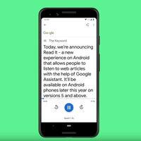 Google Assistant se actualiza y ahora permite leer contenido en la web en voz alta desde los teléfonos con Android