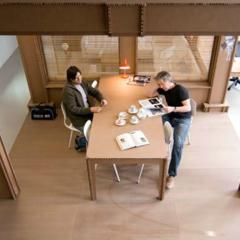 Foto 4 de 7 de la galería espacios-para-trabajar-una-oficina-de-carton en Decoesfera