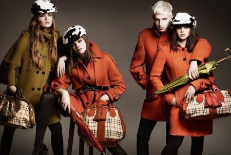 Burberry campaña Otoño-Invierno 2011/2012: estilo british