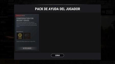 Pack Ayuda Del Jugador Pubg