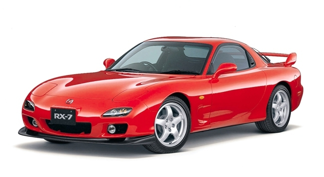 Mazda RX-7 años 90 01