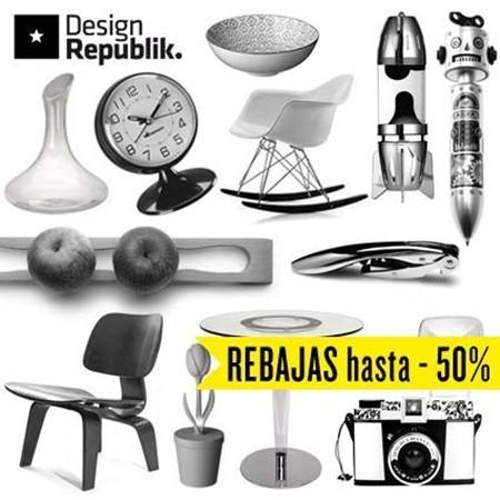 De rebajas por Design Republik