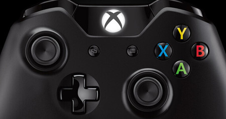 Xbox One Controller Buttons Close Up