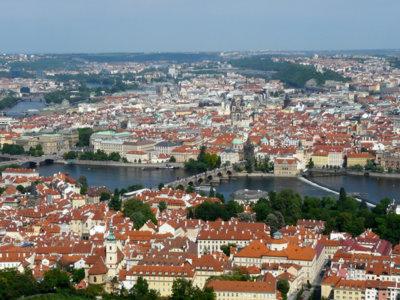 Visita el Monte Petrín buscando las mejores vistas de Praga