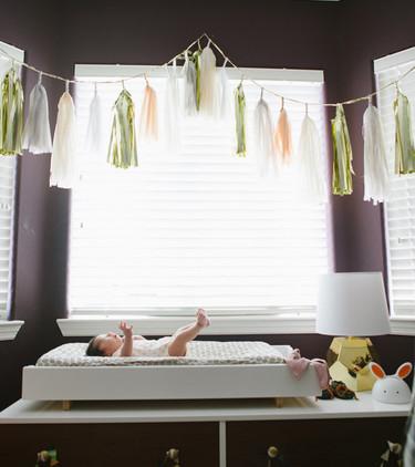 Proyecto DIY: haz una guirnalda de borlas para decorar la habitación del bebé