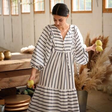 La firma de ropa española Muscari enamora con sus vestidos largos y vaporosos repletos de tendencia