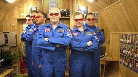 Los astronautas que viajaron a Marte están de regreso a la Tierra (simuladamente)