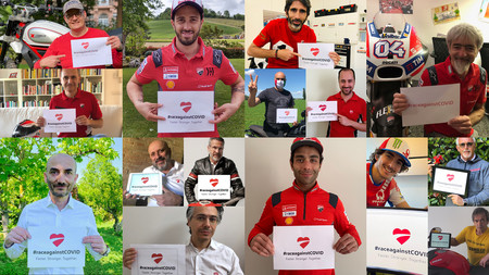 Ducati Race Against Covid Donaciones Coronavirus 2020
