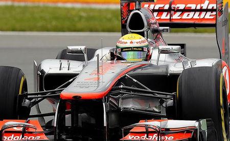 Hamilton el mejor de los libres del viernes en Canadá 2012