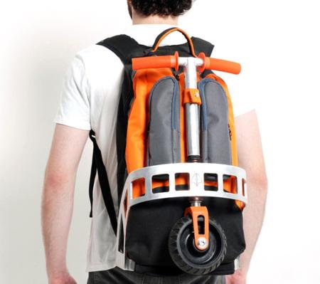 Gig Pack: con el patinete en la mochila