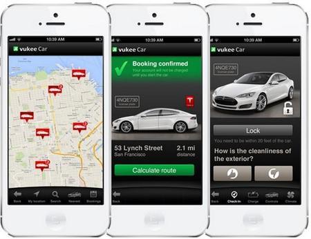 Vukee Car, un exclusivo carsharing con coches Tesla Model S