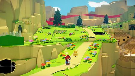 Aquí tienes 30 minutos de gameplay de Paper Mario: The Origami King con combates, exploración y un jefe final