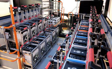 El autobús de hidrógeno de Toyota y Honda que es un generador de electricidad portátil