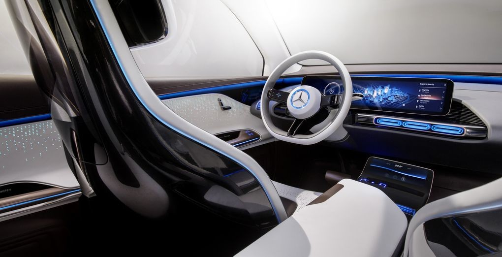 Mercedes EQ interior