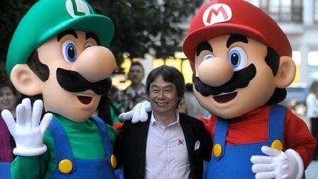 """""""Industria actual de los videojuegos pasa por inmadurez creativa"""" Miyamoto"""