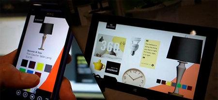 De compras en un ecosistema Windows, un ejemplo del futuro cercano