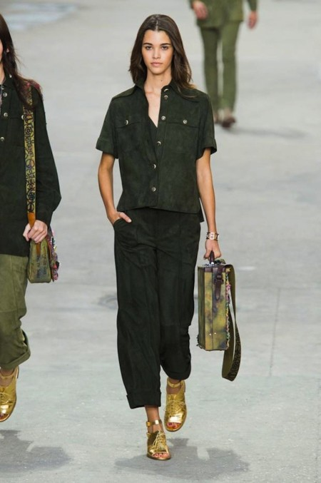 Chanel Tendencia Khaki