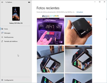 Conectar Smartphone Android Windows 10 Ver Fotos