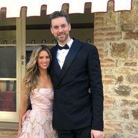 Pau Gasol se ha casado y así ha sido el vestido de novia de Cat Gasol