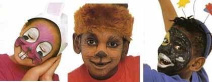 Maquillaje de cara para disfraces de Carnaval