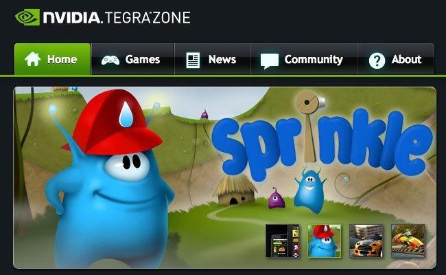 Nvidia Tegra Zone