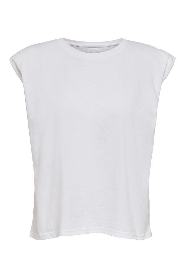 Camiseta hombreras