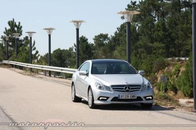 Mercedes-Benz E Coupé 350 CDI, prueba (parte 4)