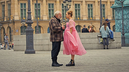 Look Killing Eve Vestido Tul Rosa Giambattista Valli
