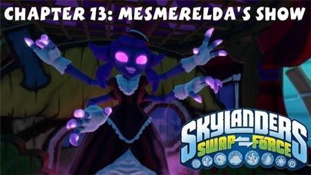 Desde los territorios de los Skylanders os presentamos el show de la malvada Mesmeralda