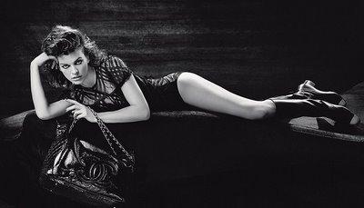 Milla Jovovich para Chanel
