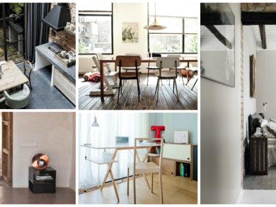 Cinco estilos para cinco casas en cinco países europeos